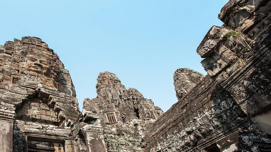 Die Tempel Bayon und Baphuon in Angkor Thom hat jeder Kambodscha-Besucher im Reiseplan. Doch der wahre Reiz der antiken Stadt liegt woanders.