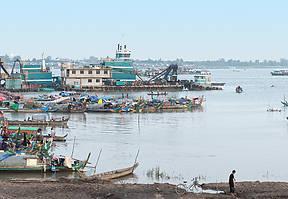 Der Mekong ist die Lebensader Kambodschas. Für die ethnische Minderheit der Cham ist er auch Lebensraum.